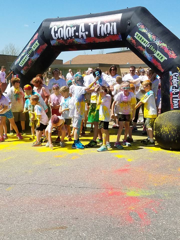 It is always a great time at the Color Run.