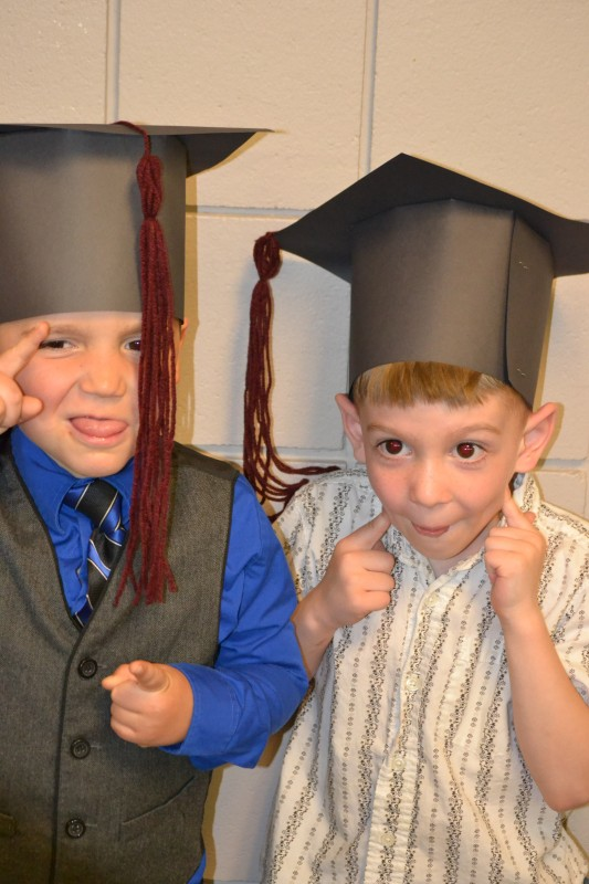 In 13 years these cute little boys will be graduating!
