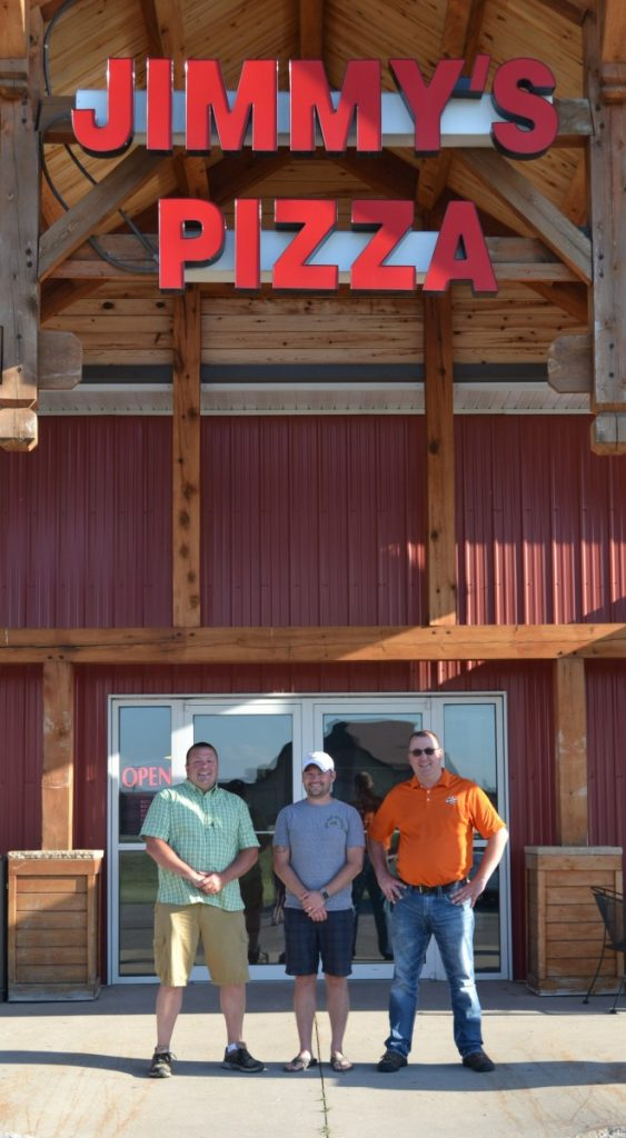 New owners of Jimmy's Pizza